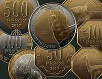 Nuevas Monedas para Chile
