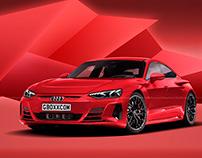 2021 Audi e-tron GT Pure Red