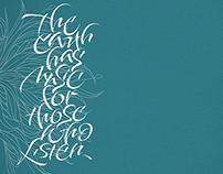 Brush pen Calligraphy