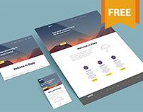 Free Perspective Mockup For Websites