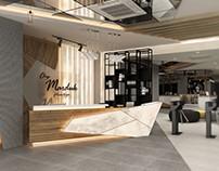 Fitness Center & Spa Interior Design