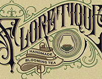 """Floretique"" Handmade Blooming Tea"