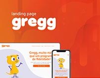 Landing page - Gregg