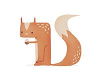 Digital Calligraphy Animals