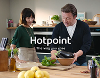 TVC - Hotpoint and Jamie Oliver
