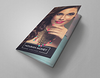 Makeup Studio Tri-fold Brochure