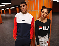 FILA new heritage line 2017 lookbook