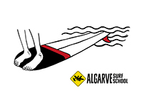 Algarve Surf School T-shirt Illustrations