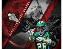 Lacrosse Sports PhotographyTemplates