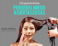"Campaña ""#TerapiaJonFrieda"" - John Frieda"