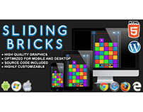 HTML5 Game: Sliding Bricks