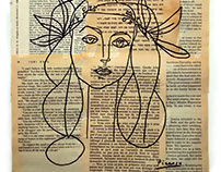 """""""Portrait of Francoise Gilot""""  - Picasso"""
