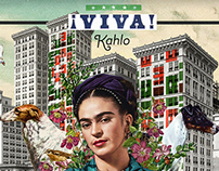 ¡Viva! Kahlo. (Digital Collage - 2015) RodrigBoy.