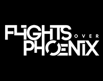 Flights Over Phoenix Logo and Album Art
