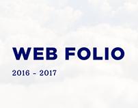 Web Folio 2016 - 2017
