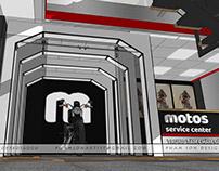 Motos service center