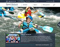 Web design - Sport & Nature