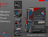 M.E.F.D Modern Electric Food Delivery