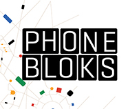 PHONEBLOKS branding + packaging