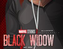 black widow fan art