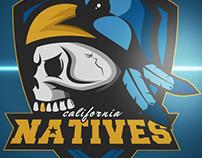 California Natives Sports Logo