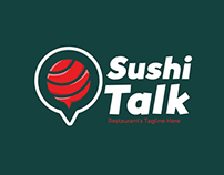 FREEBIES - Sushi Talk Logo