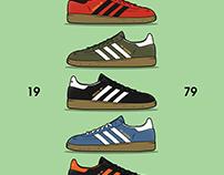 Adidass Spezial illustrations