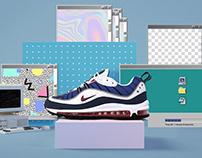 Nike & 24Kilates / Nike AirMax 98 Relaunch