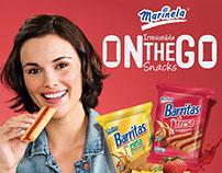"2014 Marinela Single Serve ""On-the-Go"" Campaign"