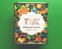Tea package pattern design
