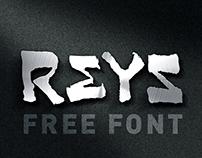 Reys - free font