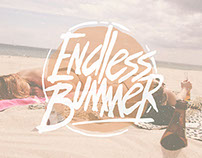 ENDLESS BUMMER - HAND DRAWN FONT