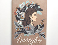 Honeybee - Book Cover Illustration