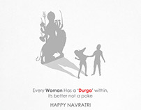 "Every Woman Has a ""Durga"" within,its better not to Poke"