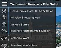 Reykjavik Travel Guide App