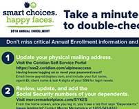 Annual Enrollment - Address/SSN Validation Postcard