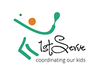 Logo design for 1st serve