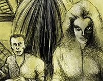 Great Twentieth-century Dystopias - illustrations