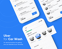 Uber for Car Wash l On-Demand Car Wash App