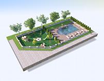 Illustration Pool Aquanomika company