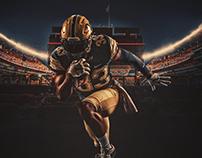 2018 Pitt Football Spring Game Poster