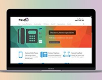 Freshtel website by StartTall Branding