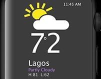Apple Watch Weather Update