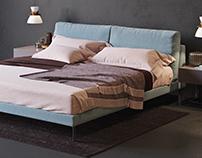 Alivar Lady b bed 3d model