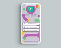 Zonder Mobile App UI/UX