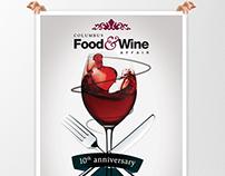 Columbus Food & Wine Affair | Poster Design