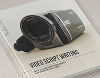 Video Script Writing - Book Layout Design