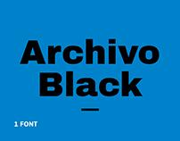 Archivo Black