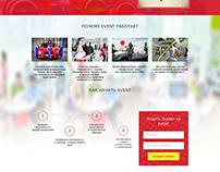 Landing Page Ивент агентства Нон Стоп