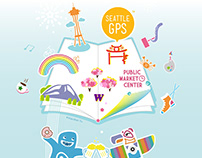 Seattle GPS Brochure Cover Design + Animated Graphics